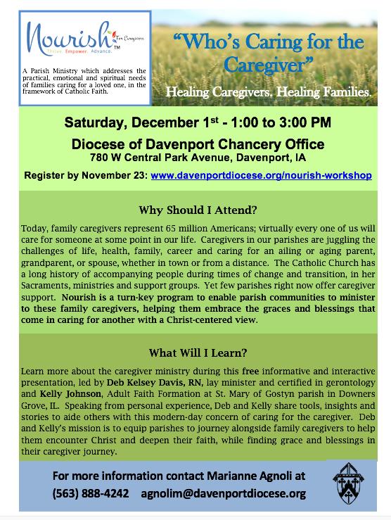 Diocese of Davenport - Workshop December 1