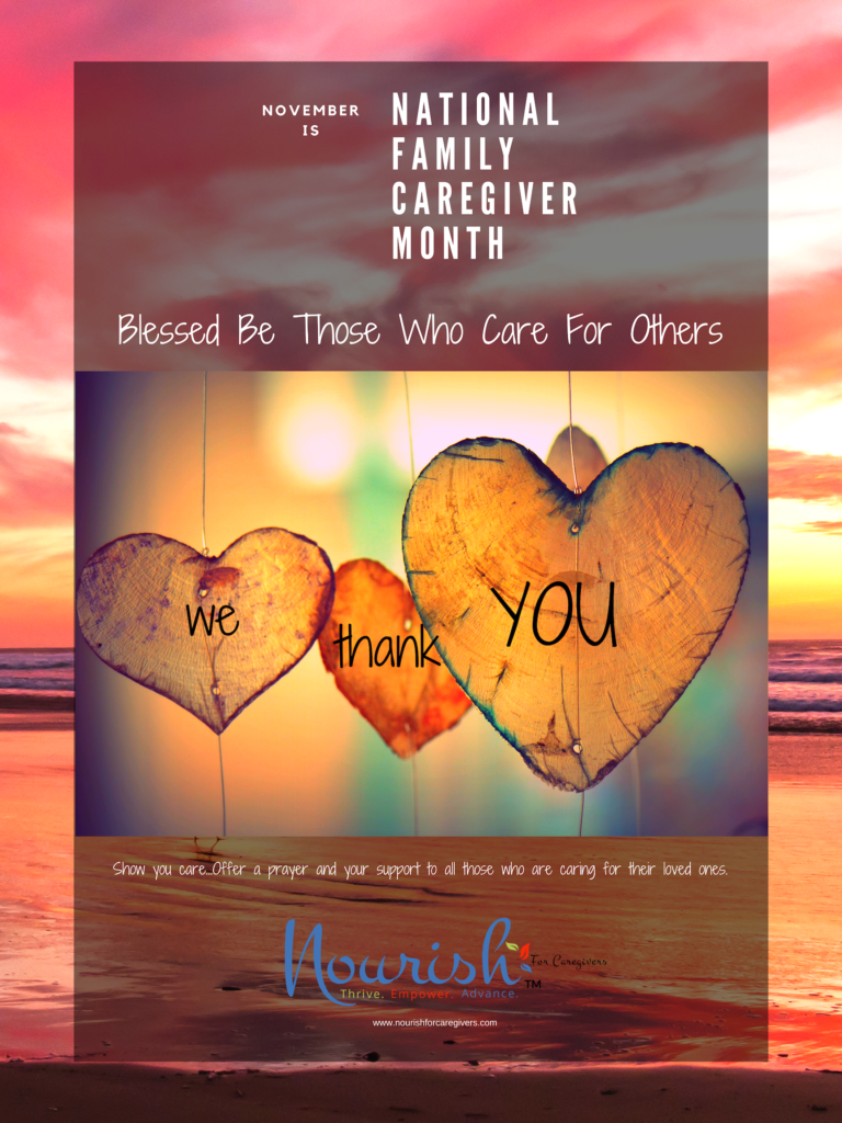 Pray for Caregivers - November 2019