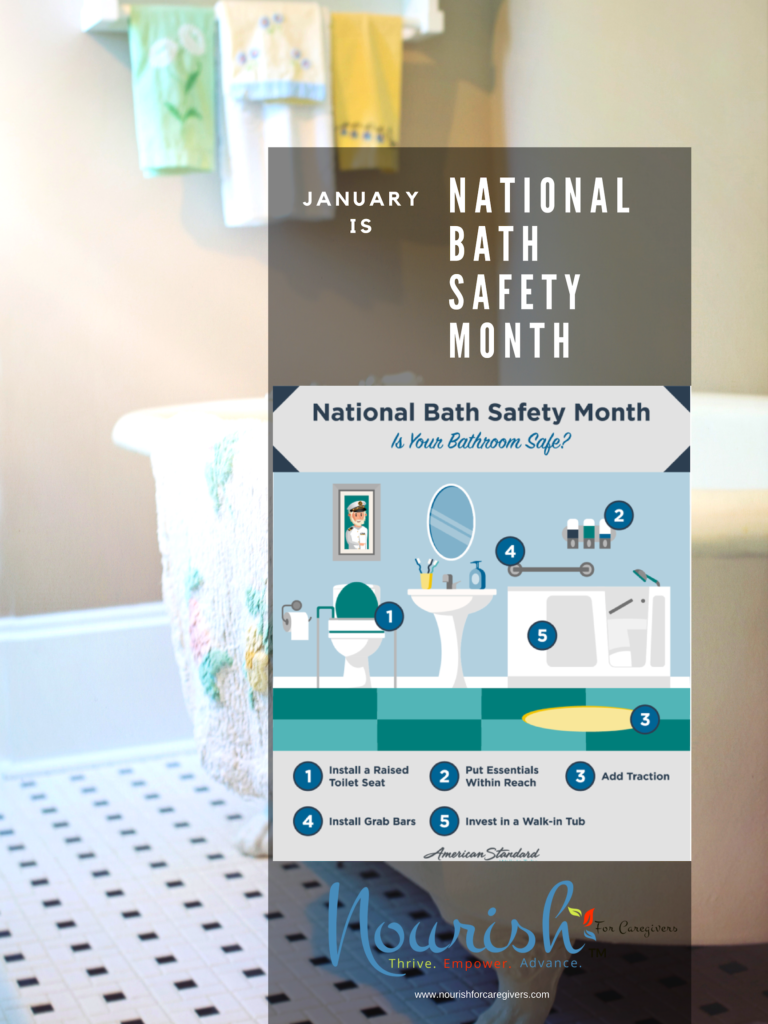 January is Bath Safety Awareness Month