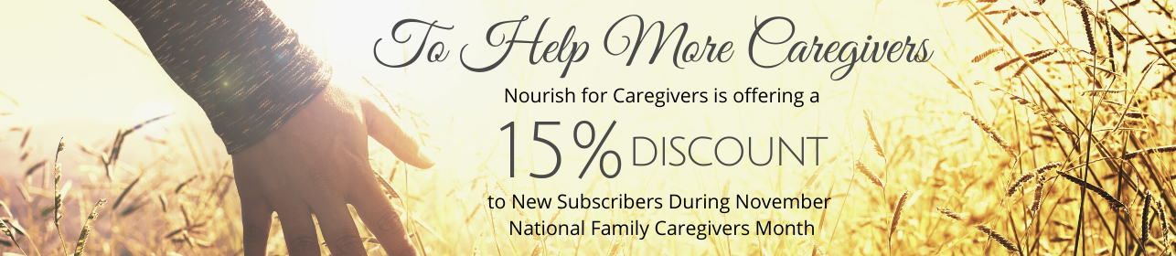 Christ-Centered Program and Resources to Support Family Caregivers