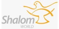 Shalom World logoo